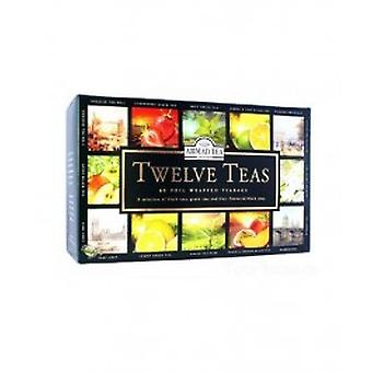 Ahmad - Foiled Twelve Teas Selection