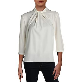 Basler | Pleated Three-Quarter Sleeves Blouse