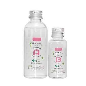 Hohe Klebstoff-Lösungsmittelbeständigkeit Schnelltrocknung - Ab Crystal Glue