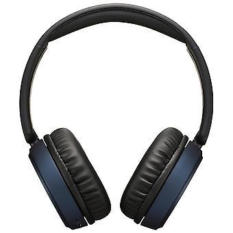 JVC Superior Sound Bluetooth-hoofdtelefoon met noise cancelling - Blauw (HAS65BNAU)
