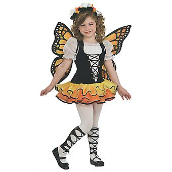 Monarch Butterfly Insect Spring Garden Fairy Pixie Book Week Child Girls Costume
