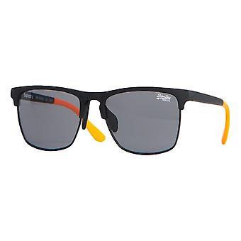 Superdry SDR Fira Sunglasses - Rubberised Black