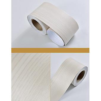 Wood Self Adhesive Window Decal Living Room Floor Border Skirting Contact Paper