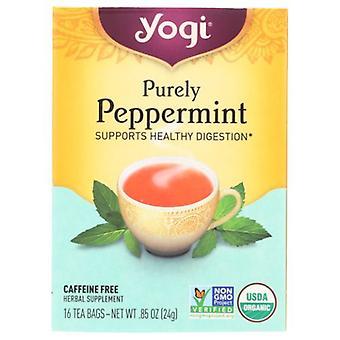 Yogi Purely Peppermint, 16 bags