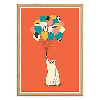 Art-Poster - Pingviner Bukett - Jay Fleck