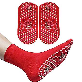 Self Heating Magnetic Massage Socks For Warm Foot
