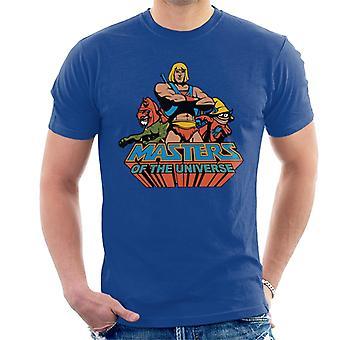 Masters Of The Universe He Man Classic Logo Men's T-Shirt