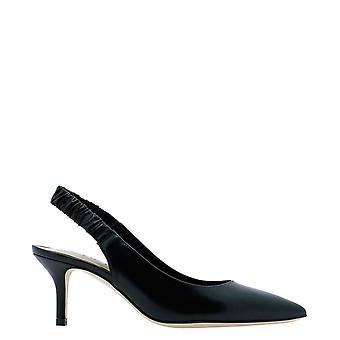 Guglielmo Rotta 4153vvitellonero Women's Black Leather Pumps