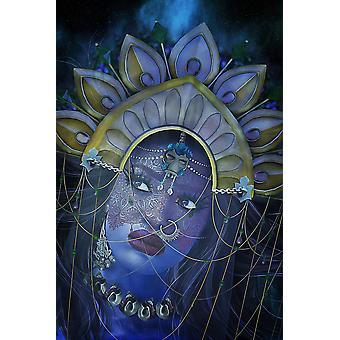 Jumalatar Kaali Print -kortti