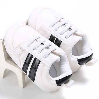 Baby & Gril Krippenschuhe, Schnürung soft Sole & Comfort Pu Prewalker Schuh