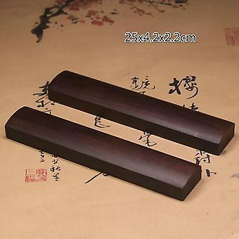 Kiinalainen massiivipuu klassinen klassikkokalligrafia paperipainot