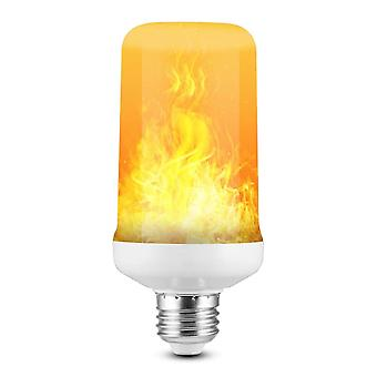 Led Dynamic Flame Effect Light Bulb, Multiple Mode Creative Corn Lamp,