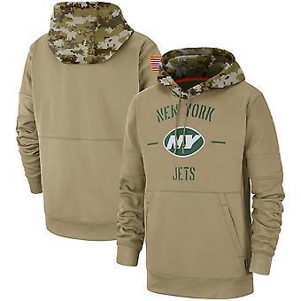 גברים'ניו יורק ג'טס שיפוע שביתה משולשת רגלן קפוצ'ון העליון WYG042