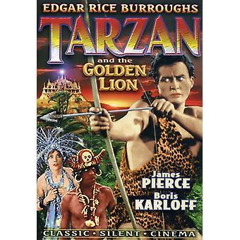 Tarzan & Golden Lion [DVD] USA importeren
