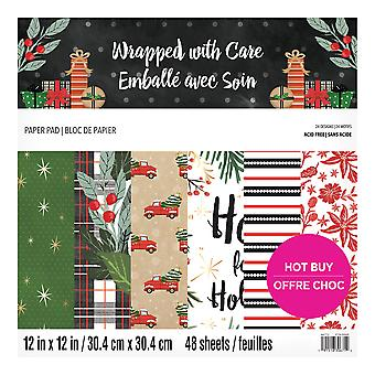 Craft Smith Wrapped with Care 12x12 Inch Paper Pad