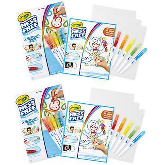 Color Wonder Mess Plumas y Papel Gratis, 2 Sets