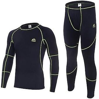 Männer Winter Fleece Long Johns Komfortable warme Unterwäsche Sets