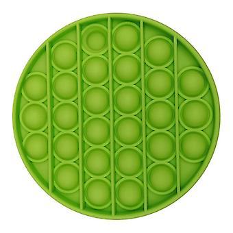 Veci certifikované® Pop It - Fidget Anti Stress Toy Bubble Toy Silikónová zelená