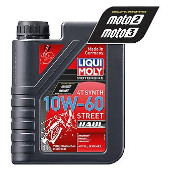 Liqui Moly 4 Stroke Fully Synthetic Street Race 10W-60 1L - #1525