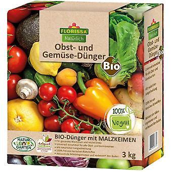 FLORISSA Fruit and vegetable fertilizer, 3 kg