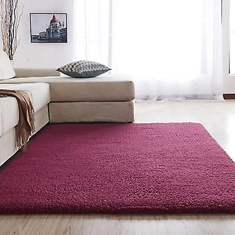 Carpet For Living Room Modern Fluffy Rectangular Bedroom Carpets  Balcony