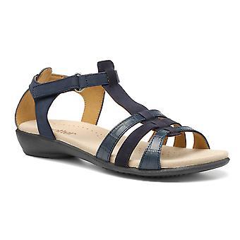 Hotter Women's Sol II Wide Fit Touch Fastening Open Toe Sandals