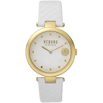 Versus by Versace Women's Watch Wristwatch BUFFLE BAY VSP870218 Leather