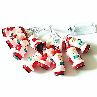 New Led Santa Claus String Lights, Christmas Decoration Lights Usb Interface