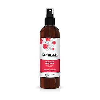 Astringent and Purifying Geranium floral water 200 ml of floral water
