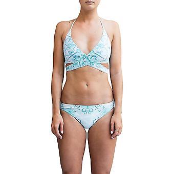 Nomad Bikini ~ Neon Palm Coral