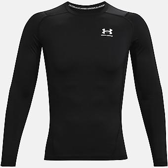 Under Armour Mens HG Comp Long Sleeve Sports Baselayer Training Top