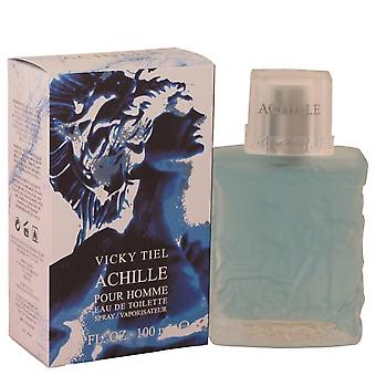 Achille Pour Homme Eau De Toilette Spray By Vicky Tiel 3.4 oz Eau De Toilette Spray