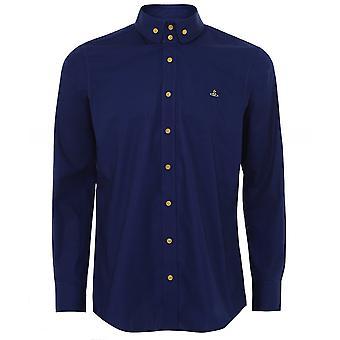 Vivienne Westwood Man Twee Knoop Krall Shirt