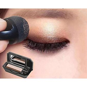 Double Color Lazy Eye Shadow Makeup Palette Glitter Palette Waterproof Shimmer