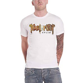 Kvelertak T Shirt Splid Band Logo new Official Mens White