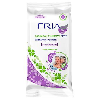 Fria Senior Maxi Emollient Body Towel 22x27 cm 24 units