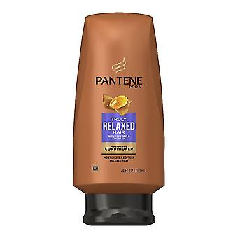 Pantene conditioner, truly relaxed hair, moisturizing, 24 oz