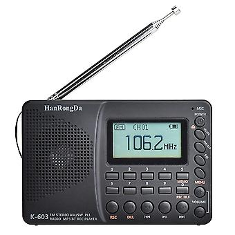 Kannettava digitaalinen radio