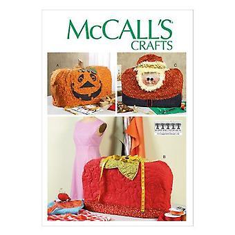 McCalls Schnittmuster 6857 Nähmaschine Abdeckungen Santa Erdbeere