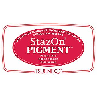 Stazon Pigment Mustetyyny Passion Punainen