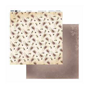 Couture Creations - Små pansies 12x12 tum Dubbelsidiga förpackningar med 10 ark