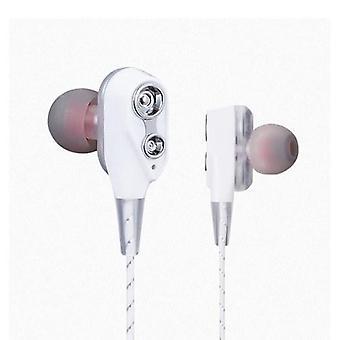 Dubbele bewegende spoelen in-oortelefoons