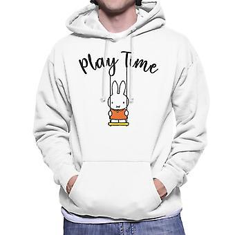 Miffy Play Time Män & s Hooded Sweatshirt