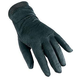 TREKMATES Men's Silk Gloves Black