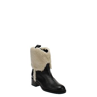 Laurence Dacade | Shearling Western Boots