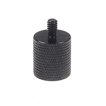 """Thread Adapter Microphone Stand 5/8"""" 27 Female To 1/4"""" 20 Male Camera Tripod"""