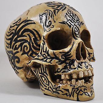 Celtic Tribal Skull 15cm
