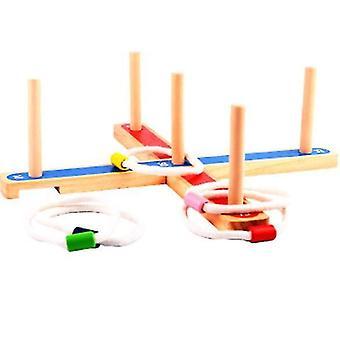 Tre ferrule spillet barnas pedagogiske utendørs foreldre-barn interaktivt spill x633