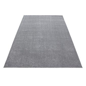 Kortbloemig tapijt Massief gekleurd robuust Gabbeh Optics Design Carpet Light Grey Gesmolten