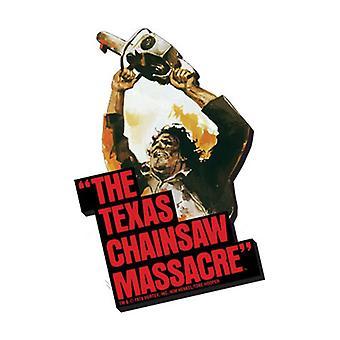 Texas Chainsaw Massacre Art Magnet